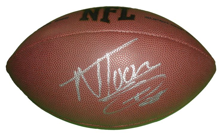 Wisconsin Badgers Nick Toon signed NFL Wilson full size football w/ proof photo.  Proof photo of Nick signing will be included with your purchase along with a COA issued from Southwestconnection-Memorabilia, guaranteeing the item to pass authentication services from PSA/DNA or JSA. Free USPS shipping. www.AutographedwithProof.com is your one stop for autographed collectibles from UW Badgers & NCAA sports teams. Check back with us often, as we are always obtaining new items.
