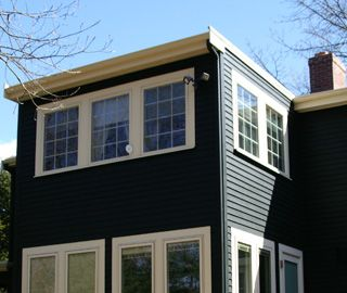 Smaller two story addition cottage living pinterest for Two story sunroom additions