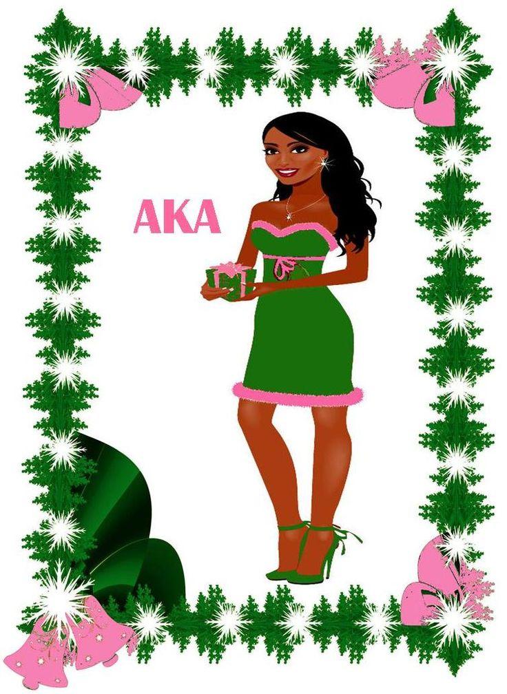 AKA holiday card