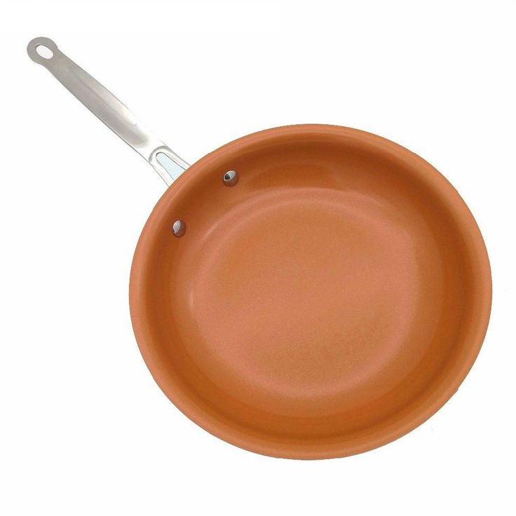 Non-stick Copper Frying Pan with Ceramic Coating and Induction cooking,Oven... #Unbranded