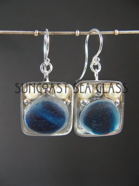 Elegant 100% handcrafted jewelry from the sea - unique, personalized, environmentally-friendly silver and sea glass necklaces, bracelets, and earrings. Check out www.suncoastseaglass.com for more!
