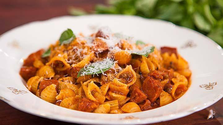 Recipes using small pasta shells