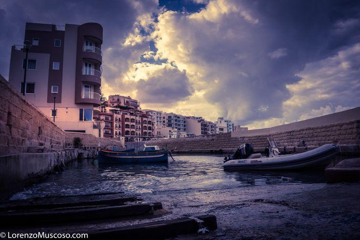 San Paul -Bay  ph #lorenzomuscoso #sanpaulbay #boats #city #monuments #malta #valletta2018 #valletta #sony #sonyalpha #sonyitalia
