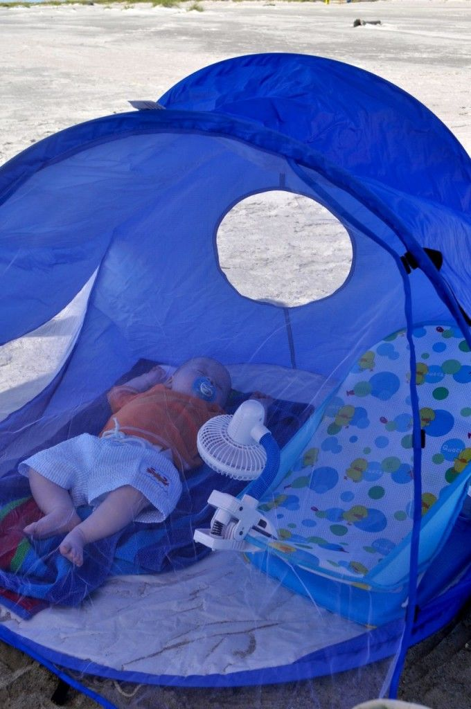 For when you take your baby to the beach or camping.