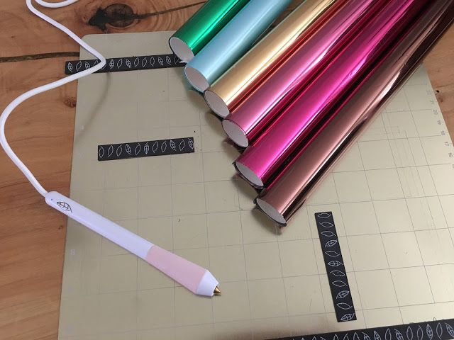How To Use Foil Quill Freehand Pens And Magnetic Mat Together Silhouette School Blog Silhouette Cameo Crafts Craft Tools