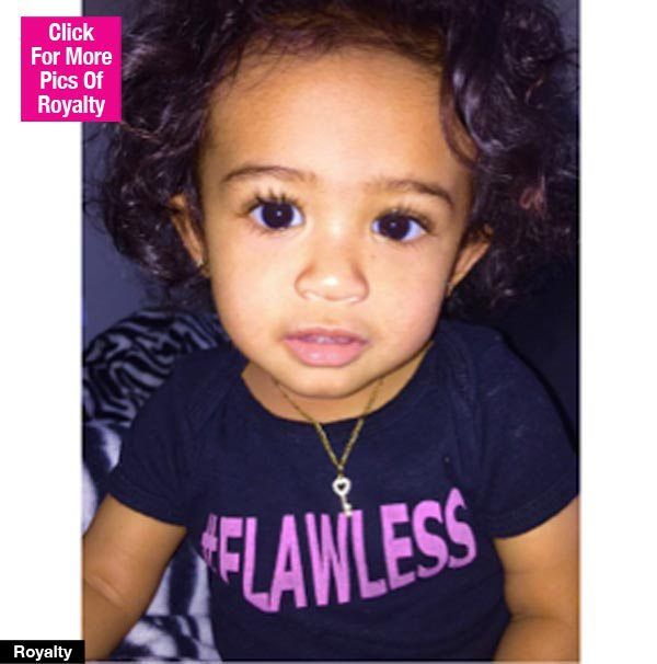royalty-Chris Brown's daughter