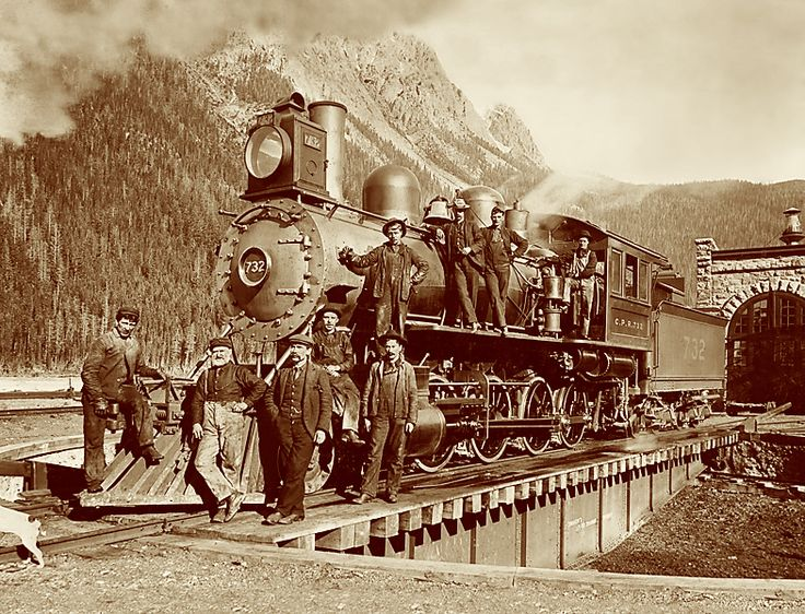 a history of the canadian pacific railway in eastern canada Incorporated in 1881, canadian pacific railway was formed to physically unite  canada and canadians from coast to coast and the building of the railway is.