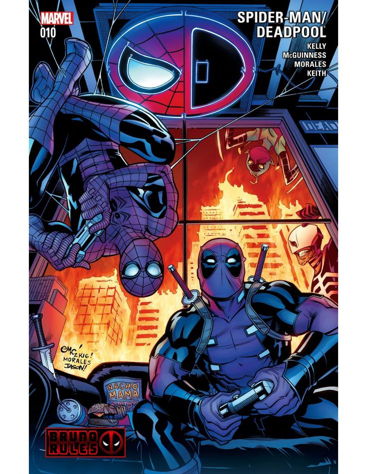 Spider man deadpool #10 brunoru desconocido