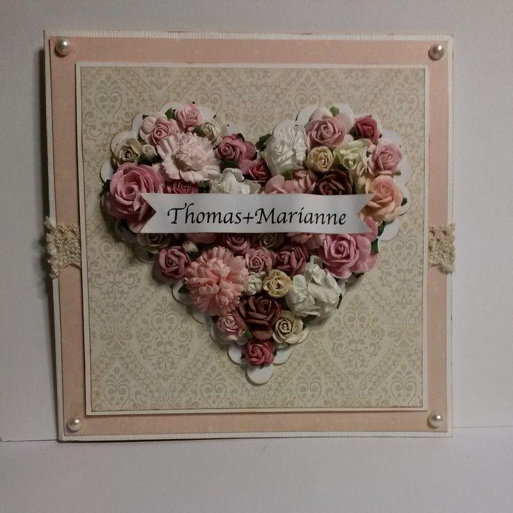 Bryllupskort, weddingcard
