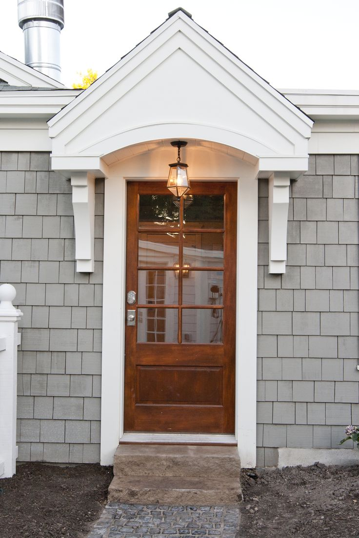 Exterior Door Colors: Exterior Paint Color: Driftwood Gray By Cabot