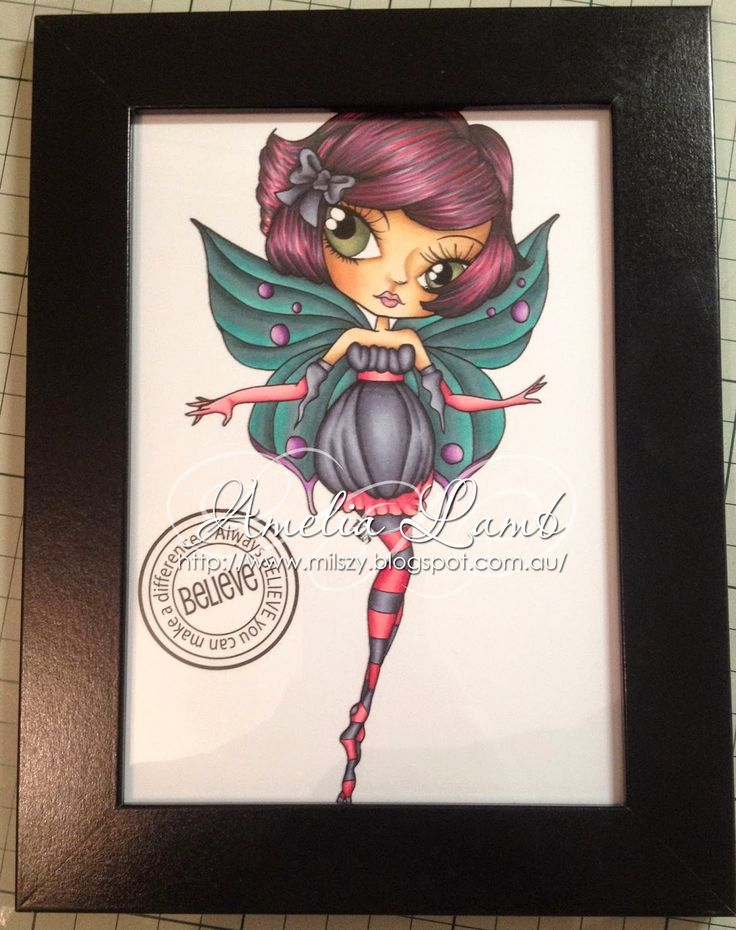 Milly's Cards: The Stamping Chef - Alyce Copic Fairy http://thestampingchef.com/Shop/