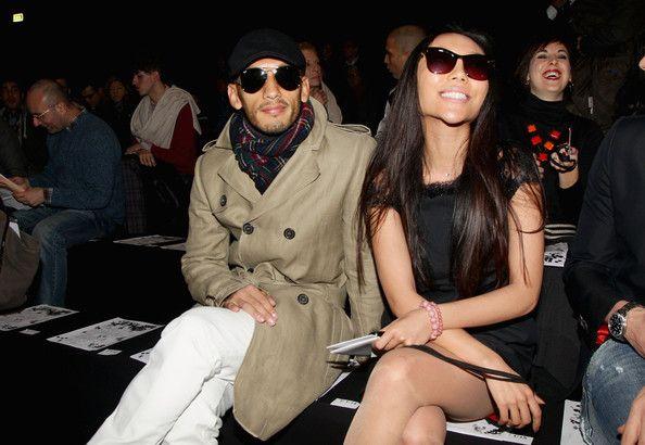 Hidetoshi Nakata Photos Photos - Hidetoshi Nakata and Bao Bao Wan attend  the DSquared2 Fashion Show as part of Milan Fashion Week Menswear A/W 2011 on January 18, 2011 in Milan, Italy. - DSquared2: Milan Fashion Week Menswear A/W 2011