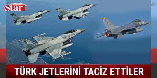 Yunan jetleri Türk F-16larını taciz etti : Ege Denizinde uluslararası hava sahasında eğitim uçuşu yapan iki F-16 uçağına Yunan jetlerince 19 dakika 8 saniye süreyle radar kilidi atılarak tacizde bulunuldu  http://www.haberdex.com/turkiye/Yunan-jetleri-Turk-F-16-larini-taciz-etti/98940?kaynak=feed #Türkiye   #F-16 #Yunan #jetlerince #saniye #uçağına