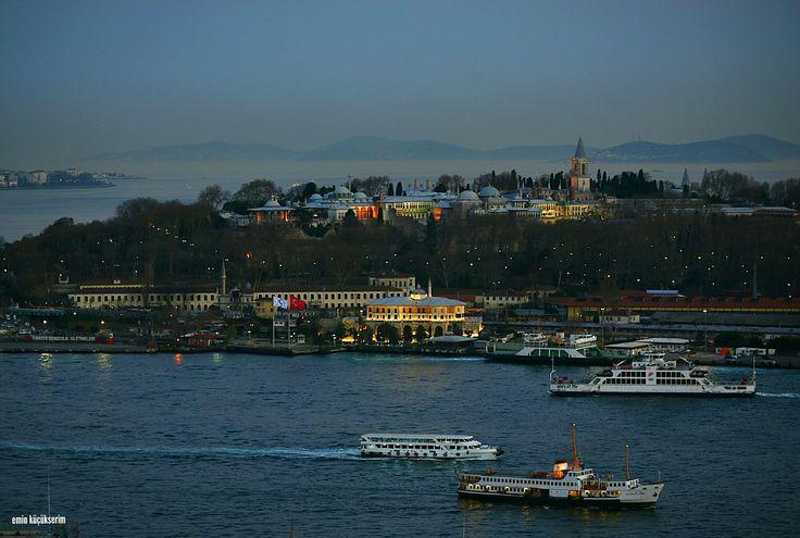 İstanbul. Topkapı sarayı. Fotograf: Emin Küçükserim