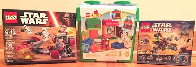 Toy Deals for Charity: LEGO toy deals in the mail today