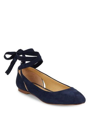 ef3f159c4a12 Jerrie Suede Lace-Up Flats by Splendid