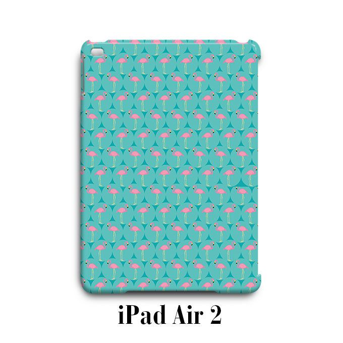 Flamingo Turquois Blue iPad Air 2 Case Cover Wrap Around