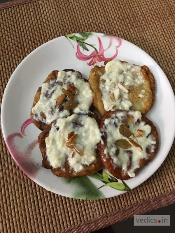 Malpua is the famous recipe of (Bihar) India, Without Pua no auspicious moment embarks, Either it is Holi (Colour festival), Vasant panchmi or sudden arrival of guests, Pua is a traditional sweet dish which is must to be served. v