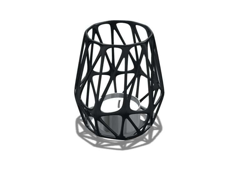 Parametric lantern - a 3D model created with VECTARY - the free online 3D modeling tool #3Dprinting
