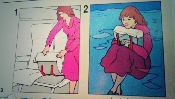 The punishment for stealing airline seats is severe - Imgur