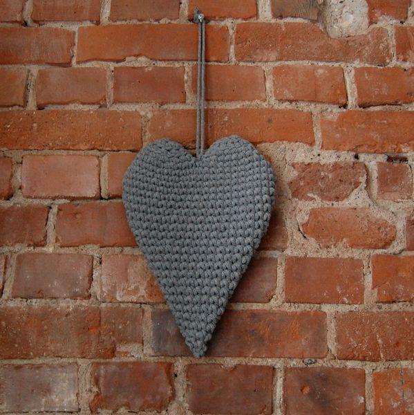 Szydełkowe serce w Bacillo na DaWanda.com