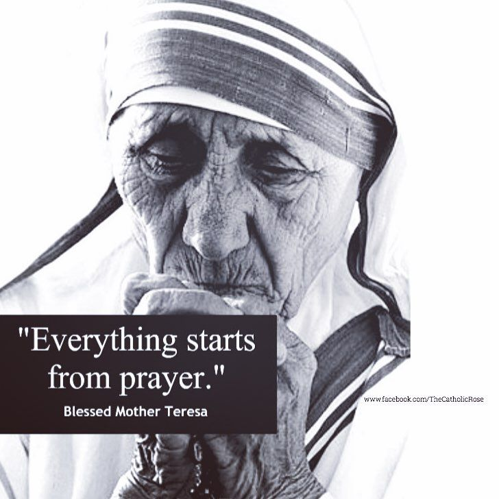 Bl. Mthr. Teresa of Calcutta - prayer