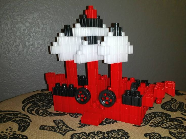 Pirate Ship with standard blocks