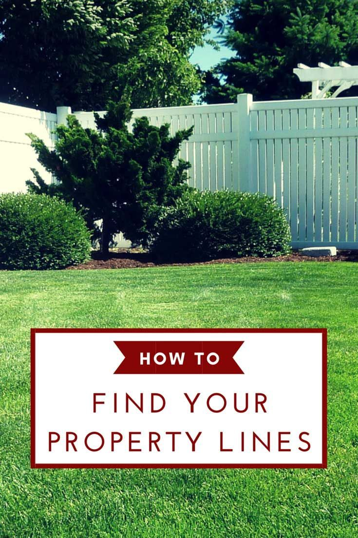 How To Find Property Lines When Building A Fence Or Extending