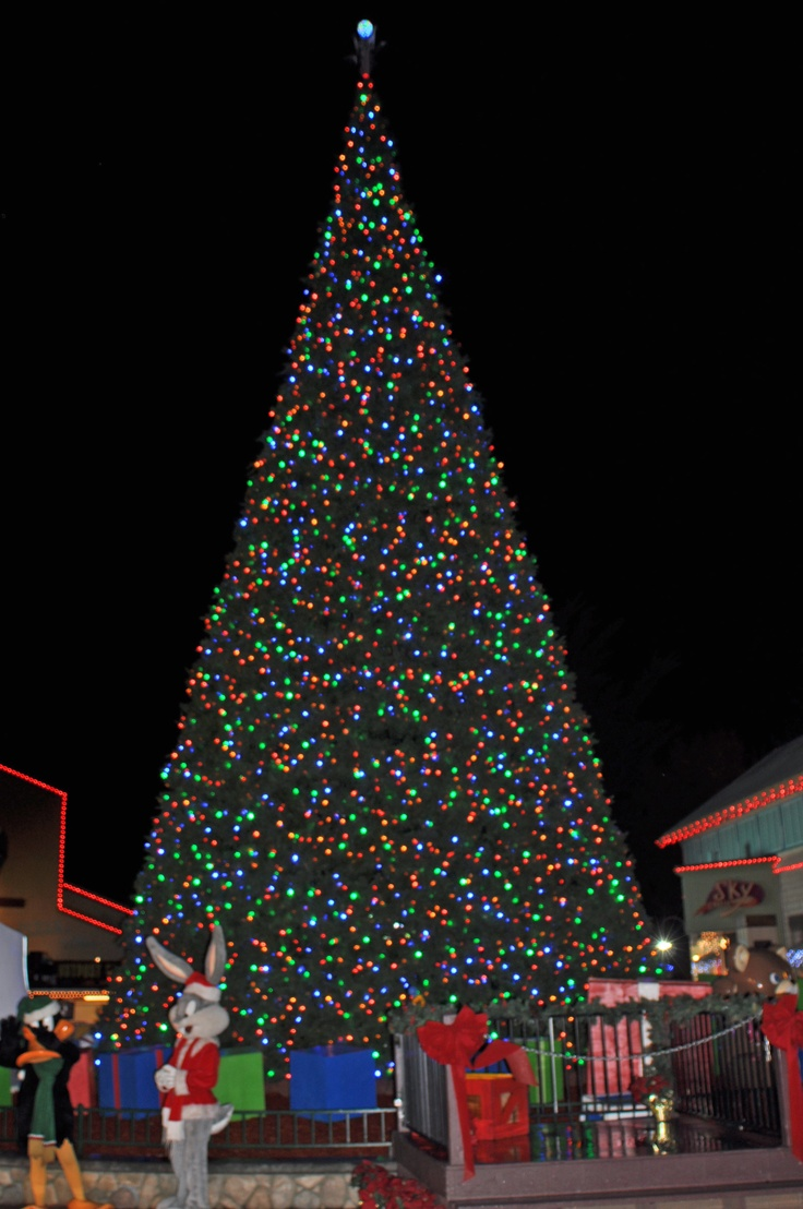 Modern metal christmas tree - Six Flags Discovery Kingdom Chooses Giant Led Christmas Tree And Energy Efficient Led Christmas Lights From
