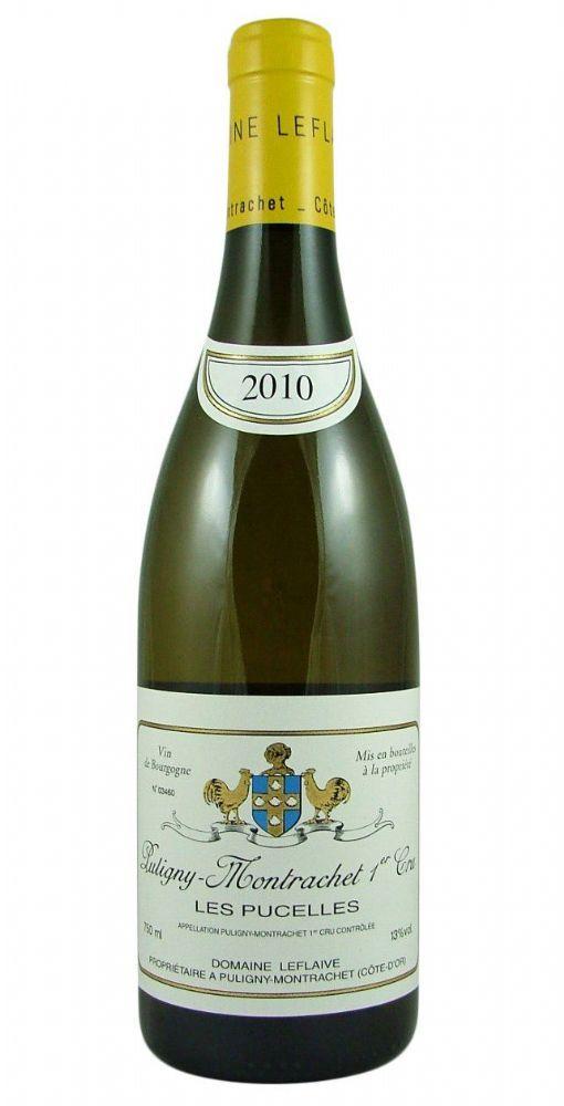 Puligny-Montrachet Les Pucelles Premier Cru 2010 Leflaive from Burgundy Wine Cellar.