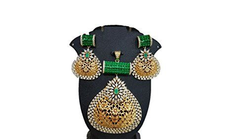 Traditional Bollywood Inspired Gold Plated Green Color Ad... https://www.amazon.ca/dp/B06VT2DGD3/ref=cm_sw_r_pi_dp_x_43uSybYP69TDH