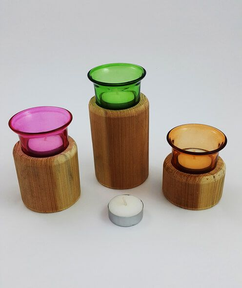 Ahşap Mumluk Oval Üçlü Set #ahşap #mumluk #ahşapmağazası #ahşaptasarım #tasarım #oval #ovalmumluk #dekoratif
