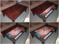 Numerous DIY Board Game Table Design Series: Completed BGG Game Tables |  BoardGameGeek | BoardGameGeek | DIY Board Gaming Tables | Pinterest | DIY  And ...