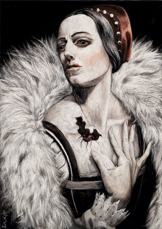 215 best blood countess images on pinterest elizabeth bathory this of course is the blood countess illustration by caruso for the a fandeluxe Document