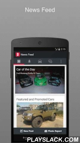 DRIVE.NET  Android App - playslack.com , Mobile version of DRIVE.NET features:— News Feed — Messenger— Comments, likes and notifications about new followers in one place— Posts in your Logbook or Personal Blog on-the-go— Built-in Photo Editor with many advanced features — Car Catalog.