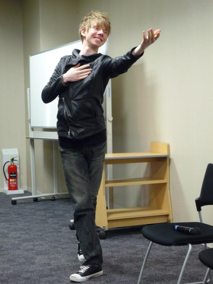 Kevin Reynolds @ fan meeting, 4CC 2013, from his FB page