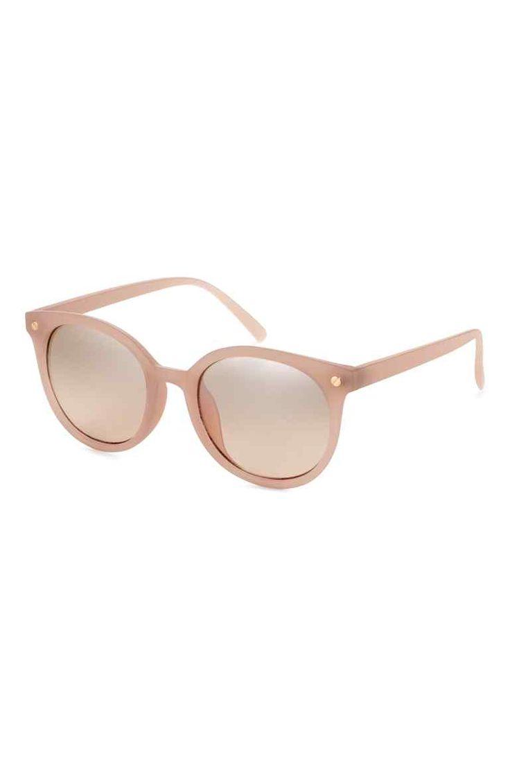L2017 Okulary przeciwsłoneczne - Pudrowobeżowy - ONA | H&M PL 1