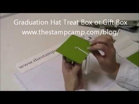 ▶ Graduation Treat Box or Gift Box - www.thestampcamp.com/blog/ - YouTube