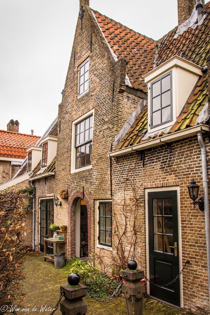 Hofje van Letmaet. Gouda. The Netherlands