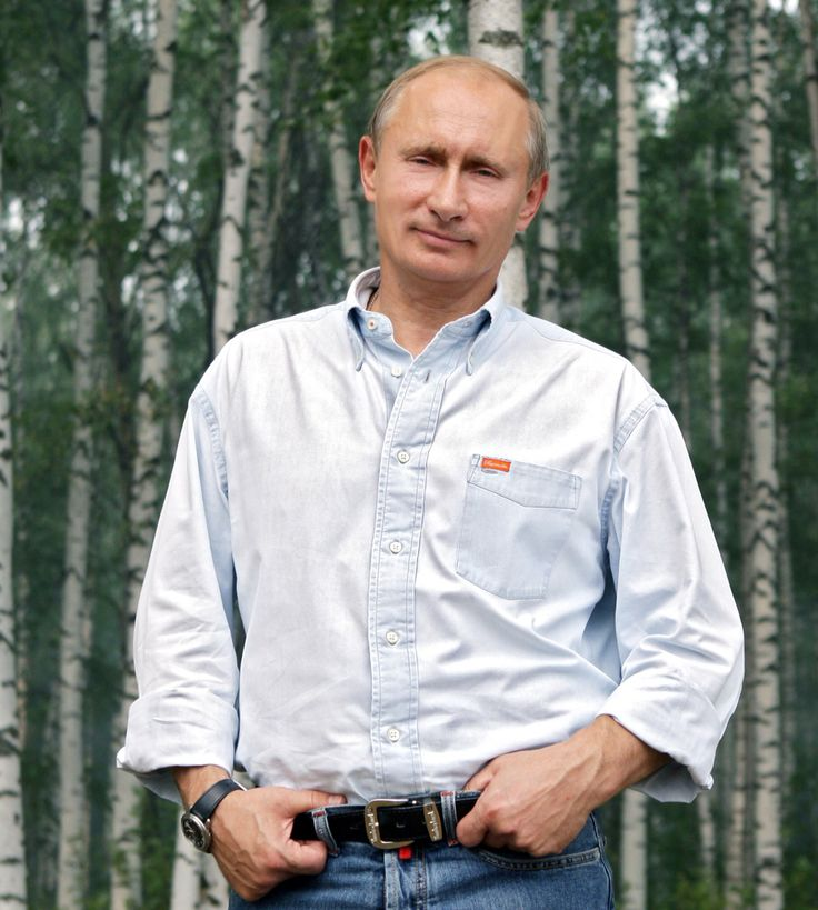 Russian president Vladimir Putin~ A lovely photograph of our President~
