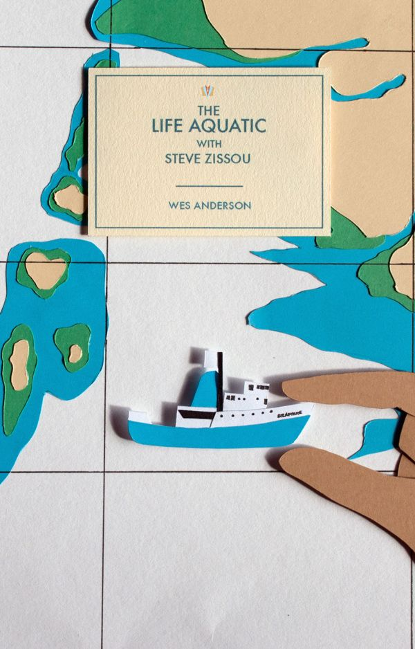 Wes Anderson book covers by Jessica Rooney-Deane, via Behance