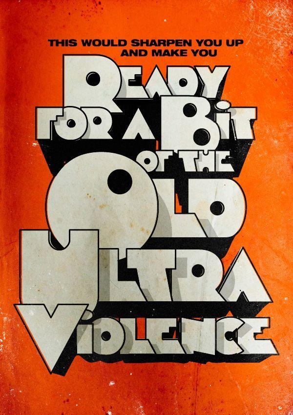 30 Second Cinema Typography Poster 13