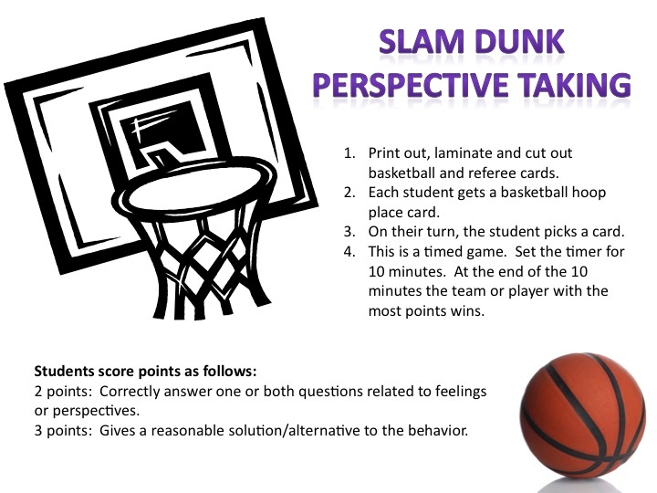 Slam Dunk Perspective taking
