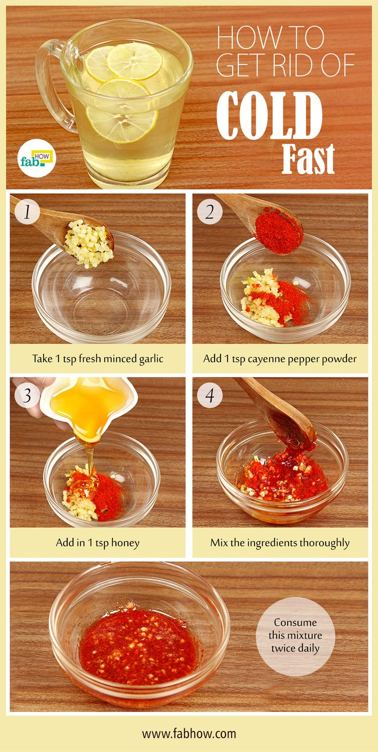 get rid of cold fast Cold remedies, Cold remedies fast