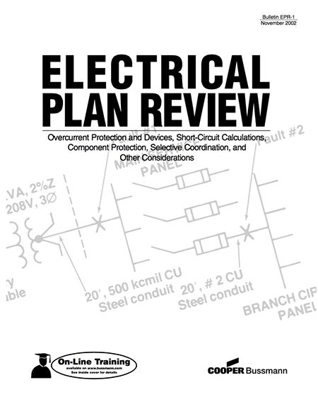 electrical plan review  u2013 overcurrent protection and