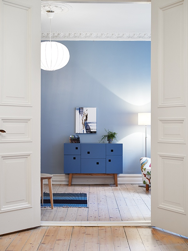 Modern blue chest of drawers  #blue #drawers