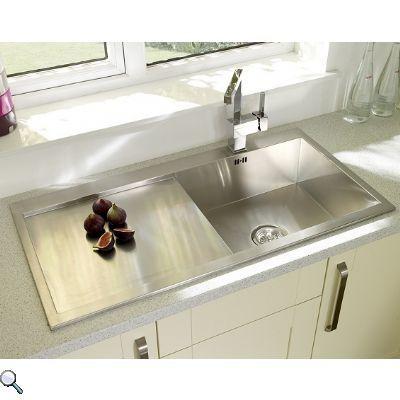 Value Line Lexas Square single bowl LEXAS-SPECIALS - £279.30 | Kitchen Sink