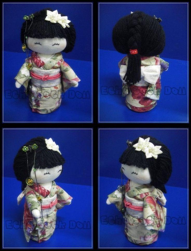Kimono Sock Doll by ~httpecho on deviantART