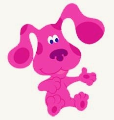 What Is The Pink Dog From Blues Clues Name