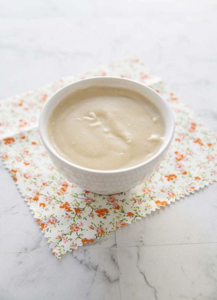 Sauce béchamel au lait d'avoine – sans lactose et vegan